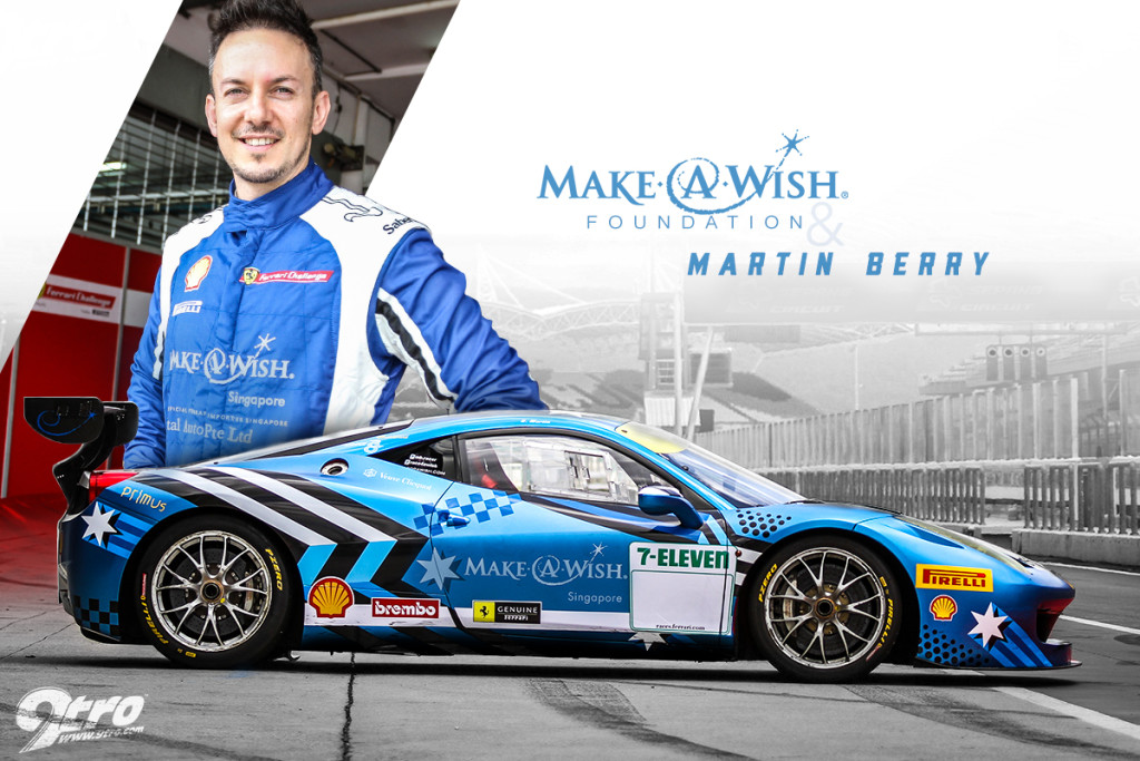 Make A Wish Foundation and Martin Berry