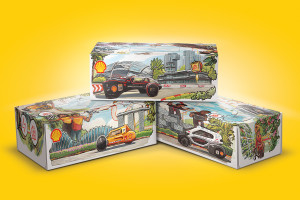 Shell launches designer tissue boxes in support of bright student talents at Shell Eco-marathon Asia