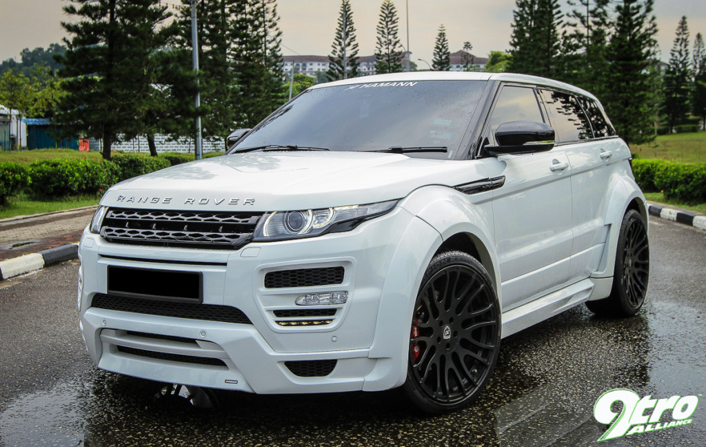 range rover evoque hamann evoked. Black Bedroom Furniture Sets. Home Design Ideas